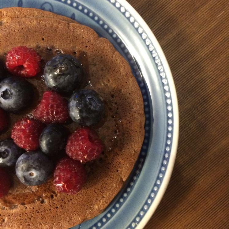 panquecas choco berries 1